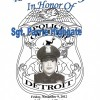 Retirement Party In Honor of Sergeant Parrie Highgate, Friday, November 9, 2012