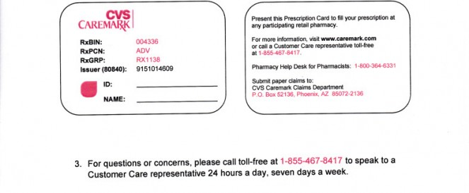 temporary cvs caremark prescription card - Cvs Prescription Card