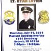 Retirement Celebration for Lieutenant Ryan Lovier