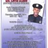 Fund Raiser for Retired Officer Levie Glenn