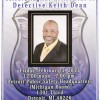 Please join us to celebrate the Retirement of Detective Keith Dean