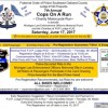 7th Annual Cops on a Run, Charity Motorcycle Run